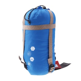 Envelope Outdoor Sleeping Bag Camping Travel Hiking Multifuntion Ultra-light Orange