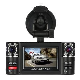 Docooler F30 Dual Lens Car Driving Recorder 2.7