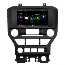 Docooler Double-DIN 8 Inches 720P Touch Screen Car USB Video & Audio Player Receiver, GPS Navigation Unit for Ford Mustang 2015 2016 2017 with Free Map & Free Card