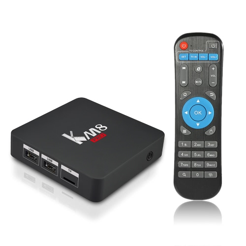 Docooler KM8 PRO Smart TV Box Android 6.0 Amlogic S912 Octa-core 64 Bit 2GB / 16GB VP9 H.265 UHD 4K 2.4G & 5G Wi-Fi 1000M LAN Airplay Miracast Bluetooth 4.0
